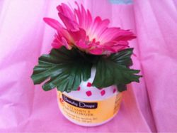 Beauty Drops Vitamin E Moisturizer with Handcrafted Flower Lid (assorted styles and colors)