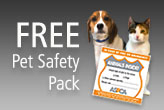 ASPCA Offers Free Pet Care Safety Packs